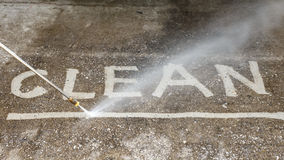 Car park Pressure Cleaning Reservoir